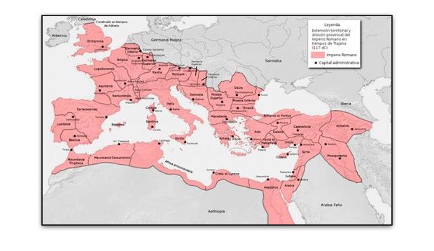 Territorios imperio romano