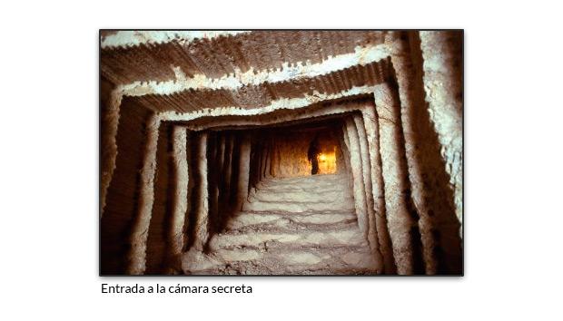 Entrada a la cámara secreta