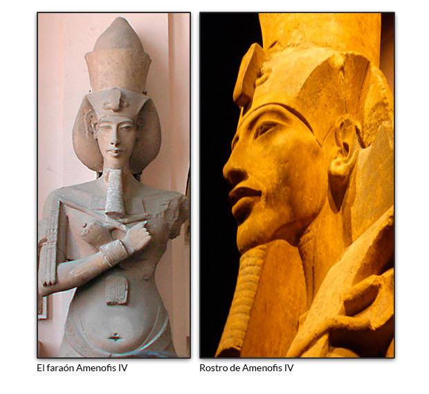 El faraón Amenofis IV