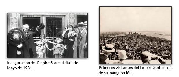 Inauguración del Empire State