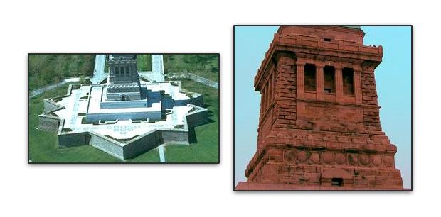 Pedestal estatua de la libertad