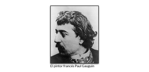 El pintor francés Paul Gauguin
