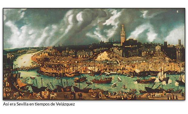 Así era Sevilla en tiempos de Velázquez