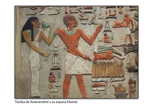 Tumba de Amenemhet y su esposa Hemet