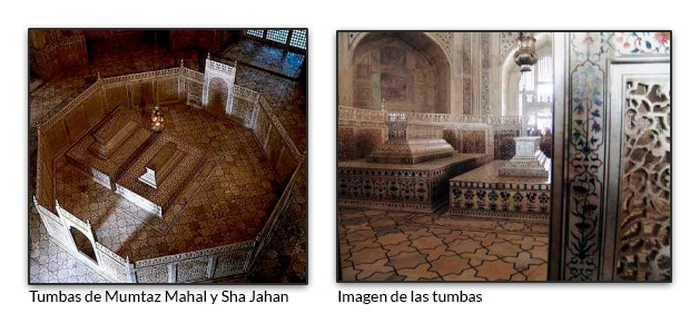 Tumbas de Mumtaz Mahal y Sha Jahan