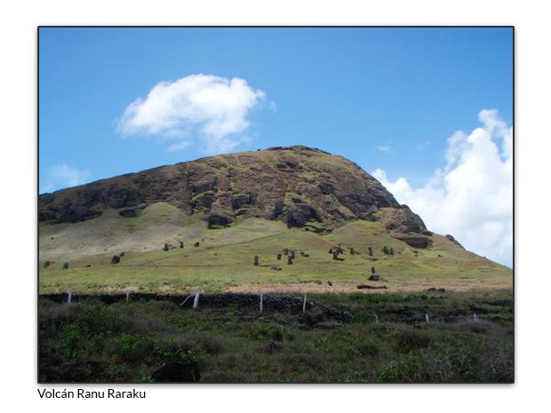 Volcán Ranu Raraku