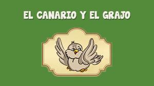 El canario y el grajo
