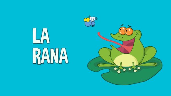 La rana cantaba debajo del agua