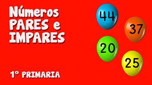 Números pares y números impares