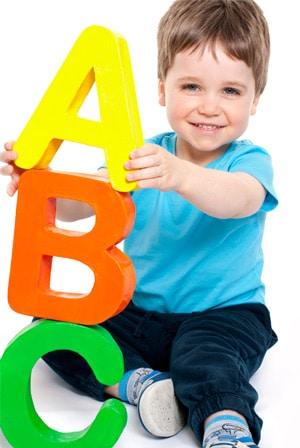 Enseñar el abecedario