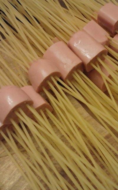 receta fácil de espaguechichas