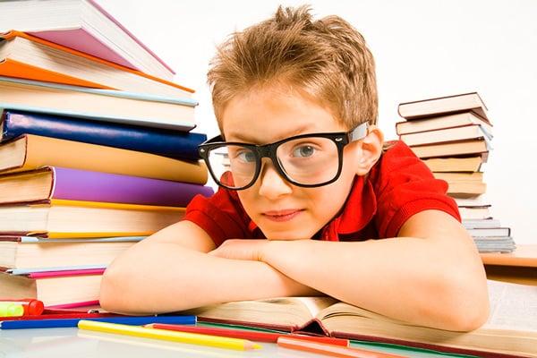 Organizar los deberes con los niños