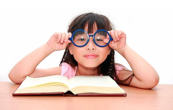 Cómo elegir gafas para niños.