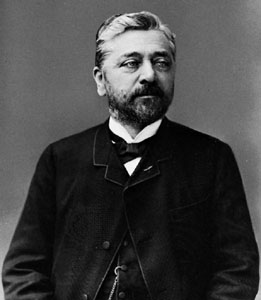 Foto del arquitecto Gustave Eiffel