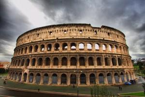 Vista de El Coliseo Romano