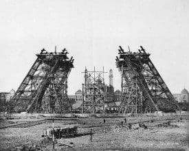 Cimientos Torre Eiffel