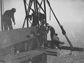 Trabajadores de la Torre Eiffel