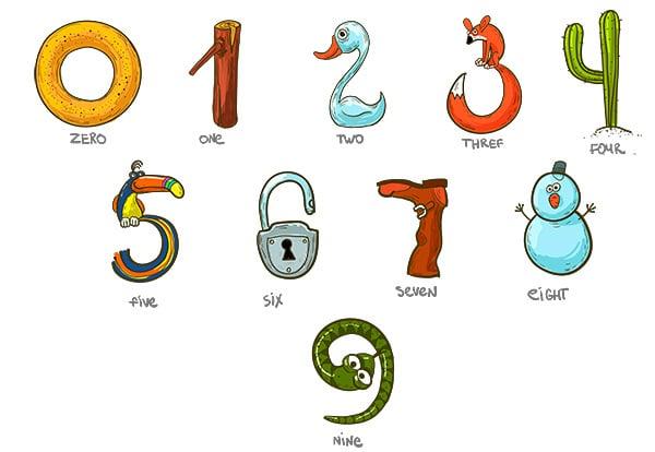 Los números son fáciles y se aprenden enseguida, pero lo mejor para aprender los números en inglés es hacerlo de la forma más divertida posible.