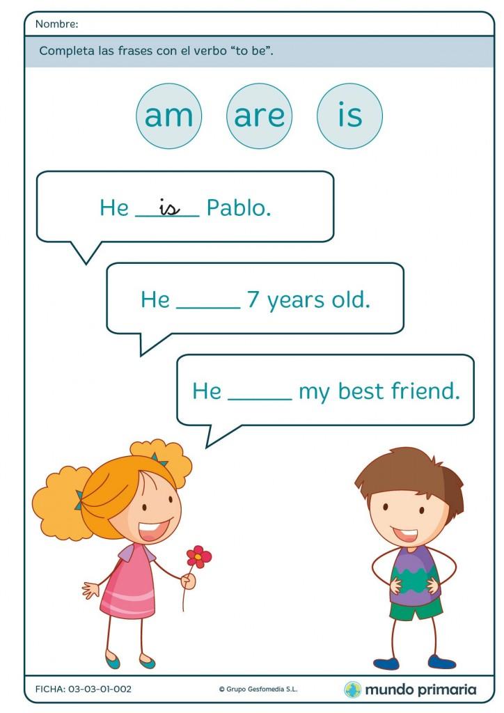 Ficha de edad para 1º de primaria