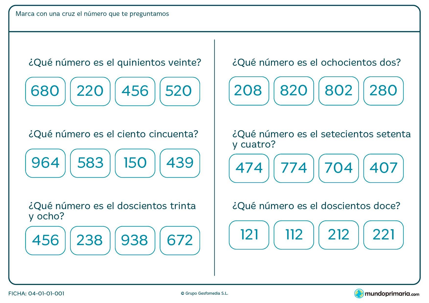 Ejercicios números enteros segundo primaria