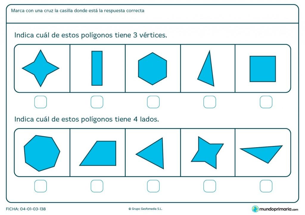 Ficha de vértices para primaria