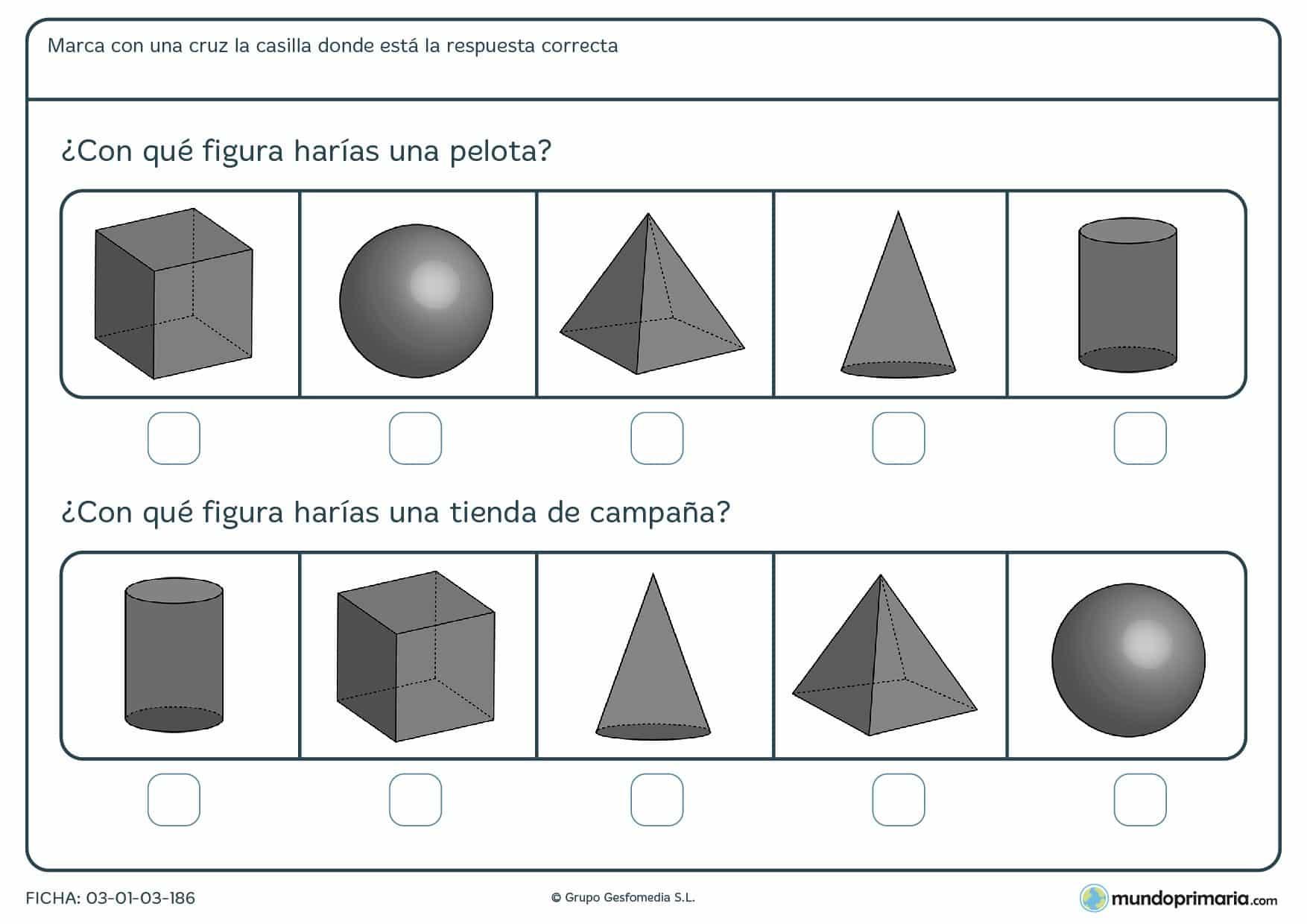 Ficha de averiguar el cubo con actividades para niños de 6 a 7 años