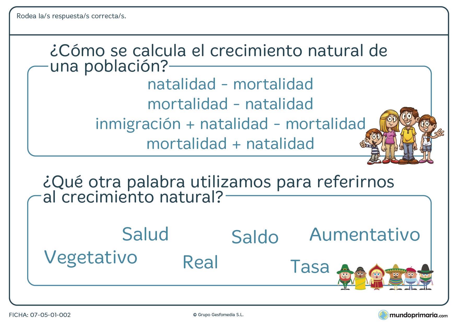 Ejercicios 5 primaria sociales ciencias