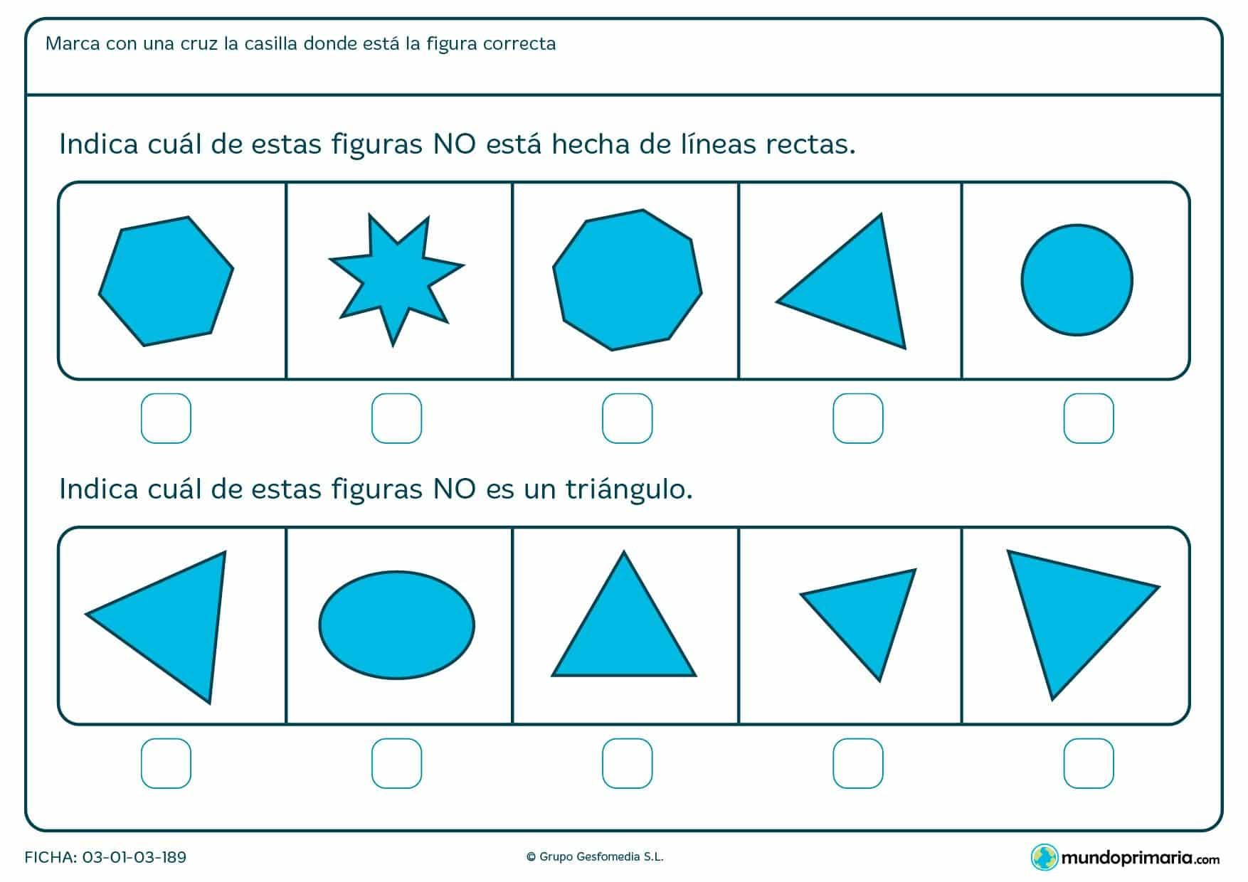 Ficha de líneas rectas para niños 7 años con actividades de refuerzo