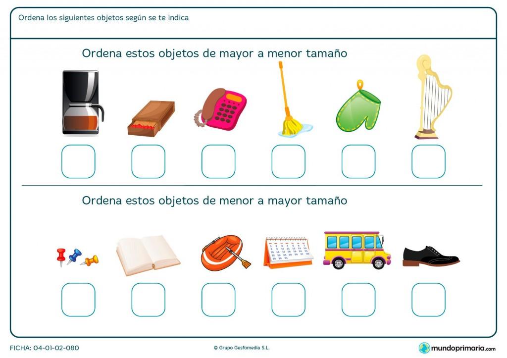 Ficha de menor tamaño para primaria