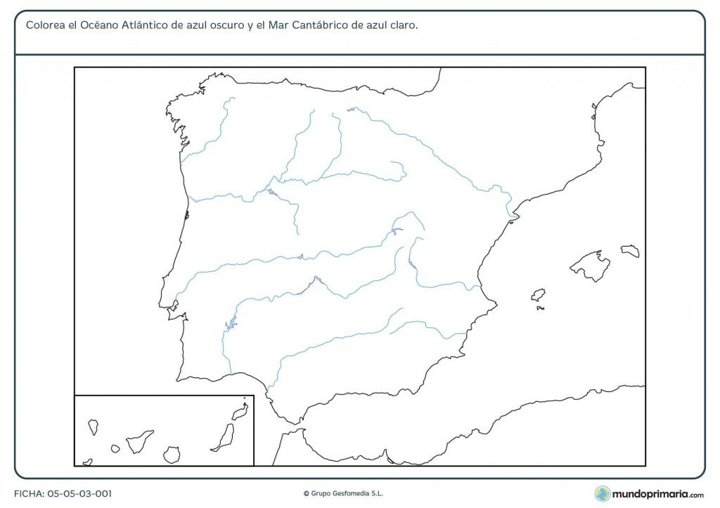 Ficha de océano para primaria