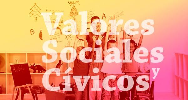 la asignatura de valores sociales y cívicos en primaria