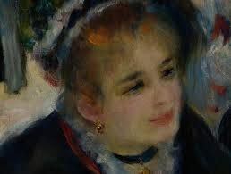 Detalle de Baile en el Moulin de la Galette de Renoir