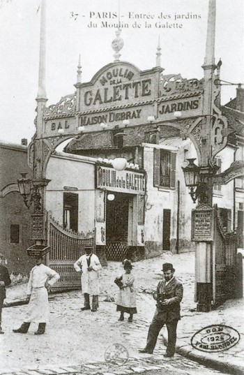 Entrada a Le Moulin de la Galette