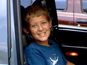 Gryffin Sanders el niño que evitó un accidente de coche gracias al Mario Kart