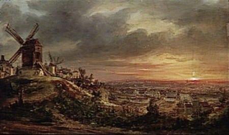 Vista de Montmartre (siglo XVIII)