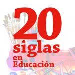 20 siglas de Educación Primaria