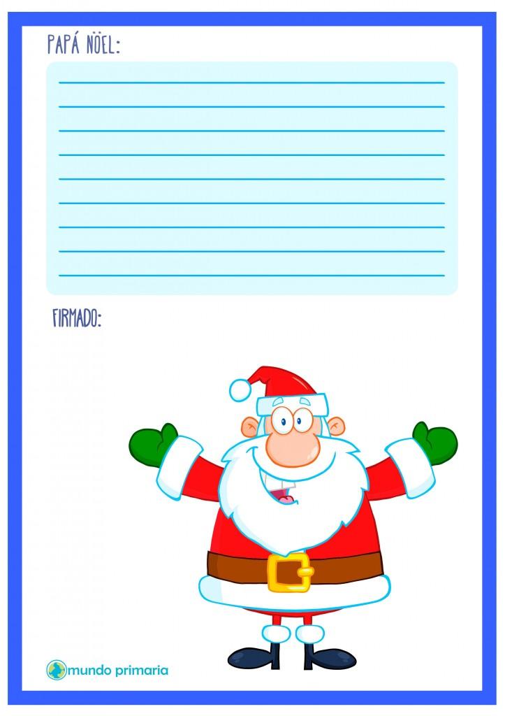 Carta navideña para Papa Noel