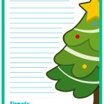 Carta a Papa Noel para imprimir. Mundo Primaria