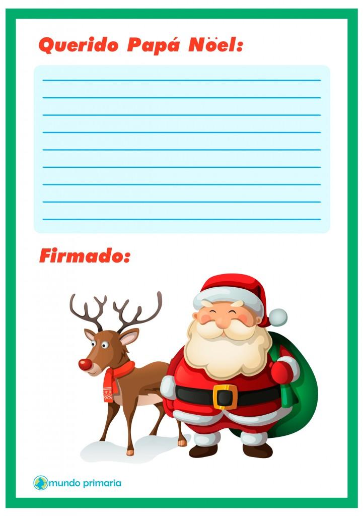 Carta de Rudolf con Papa Noel