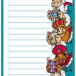 Carta a los Reyes Magos para imprimir.