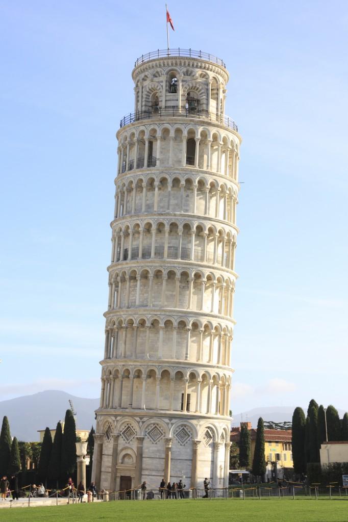 foto de Wiki mochila: ¿Por qué está inclinada la famosa Torre de Pisa?