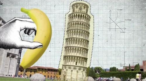 Resultado de imagen para Torre de pisa platano