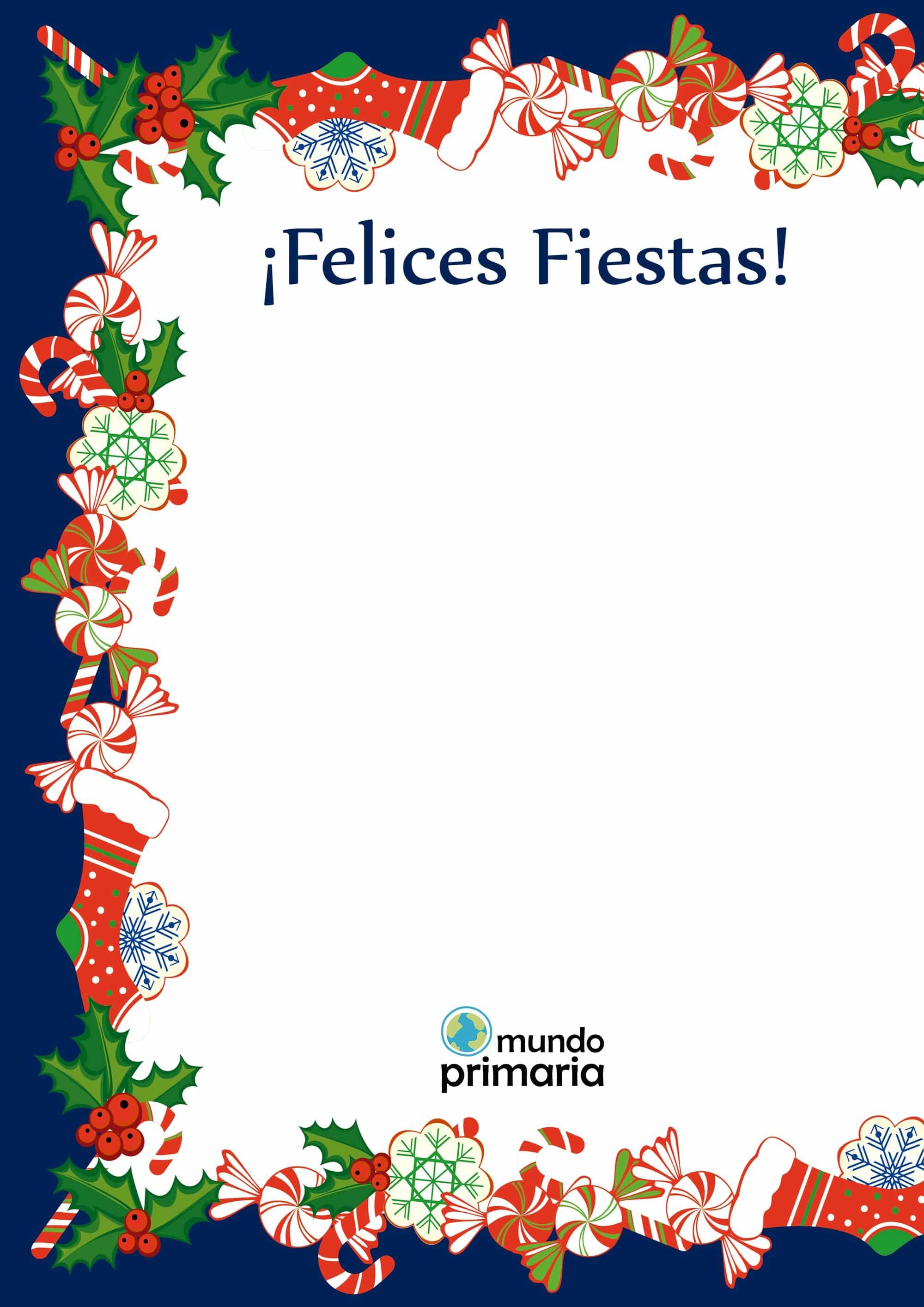 Tarjetas navideñas para niños gratis