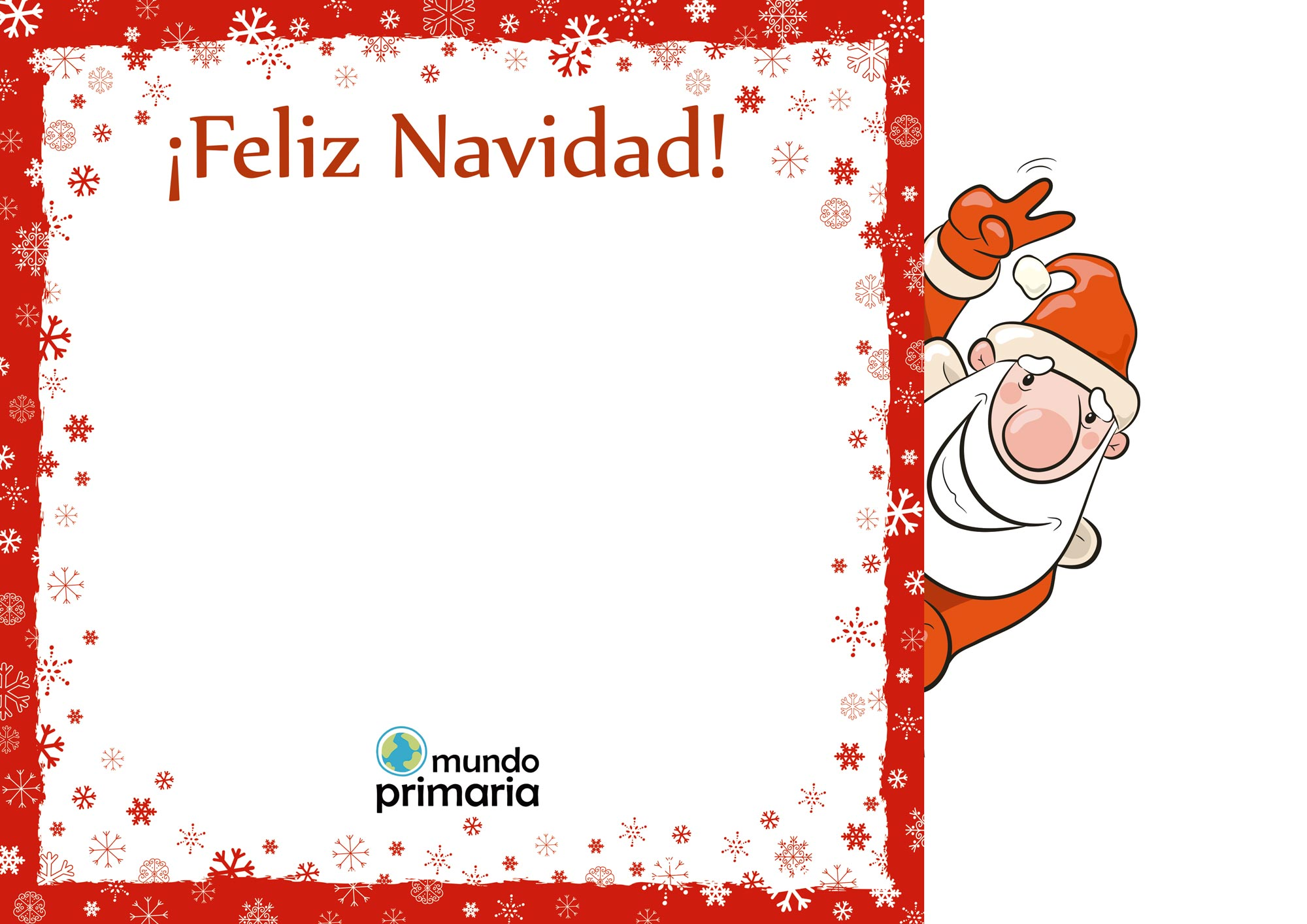 Felicitaciones de navidad con dibujos para ni os for Dibujos postales navidad ninos