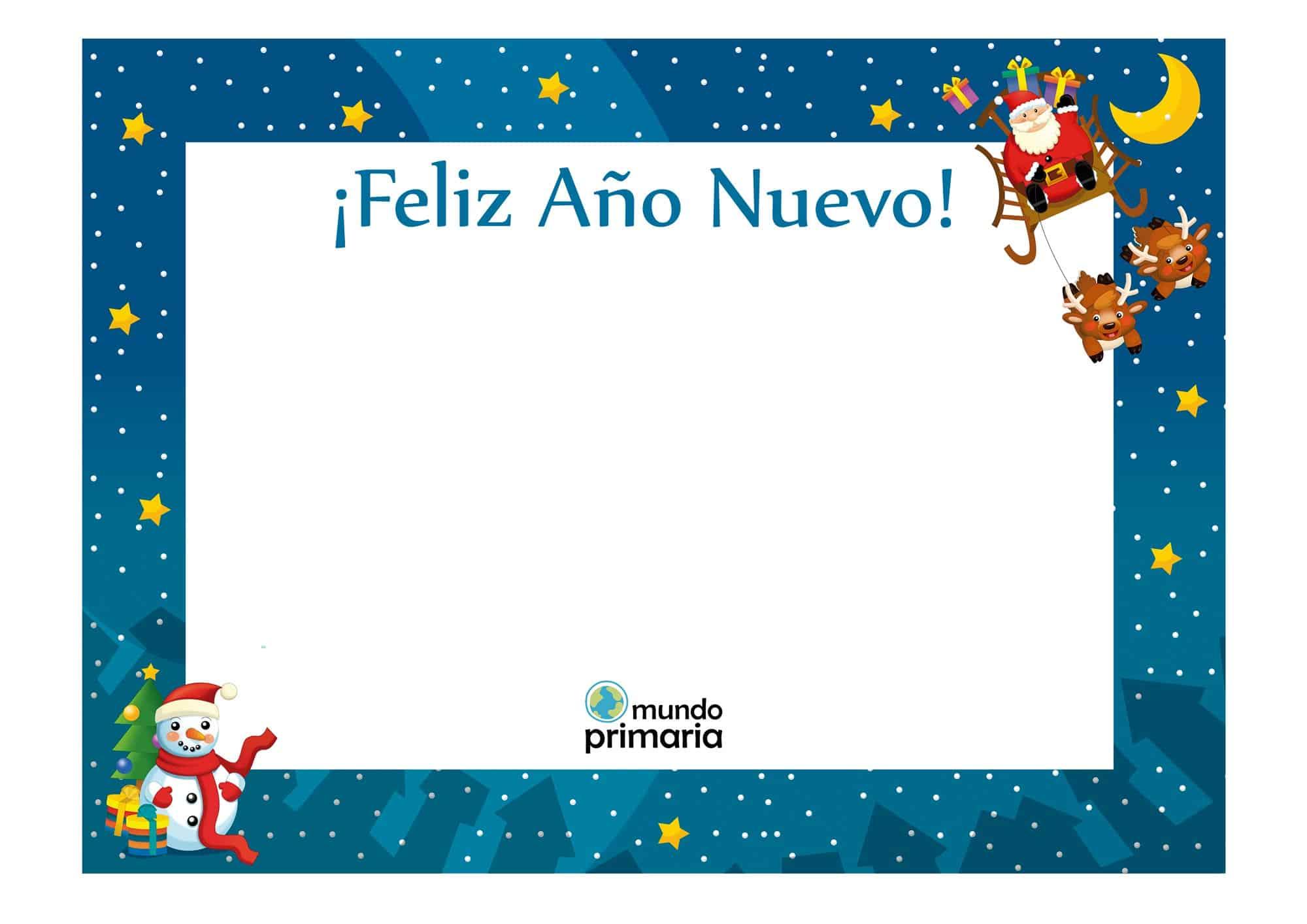 Tarjetas para ni os con dibujos de navidad - Postales de navidad con fotos de ninos ...