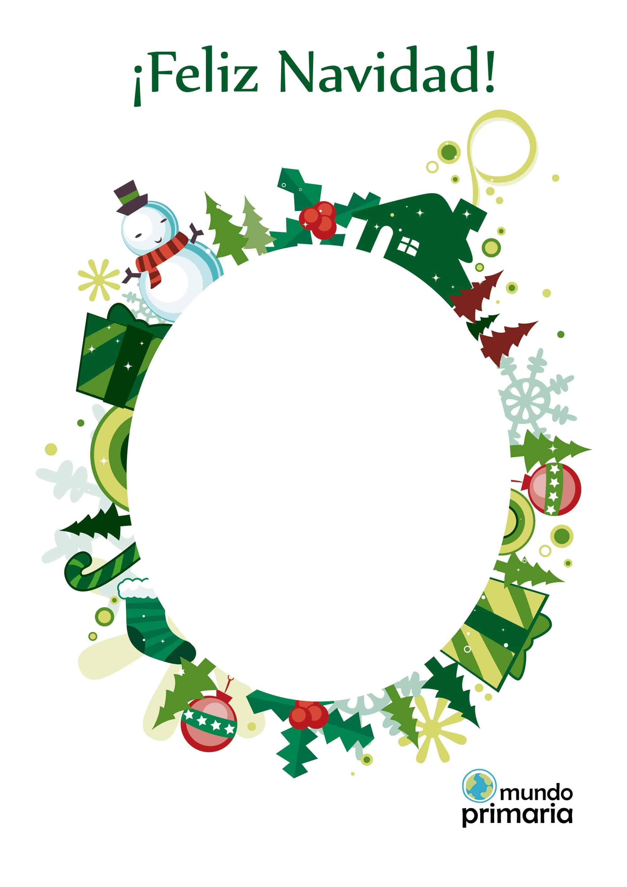 Felicitaciones navideñas para niños