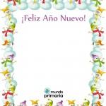 felicitaciones de Navidad para niños de Primaria