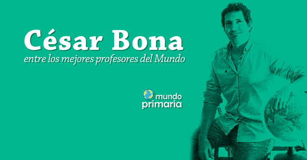 profesor español Global Teacher Prize César Bona