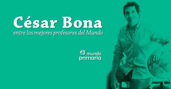 profesor español Global Teacher Prize César Bona