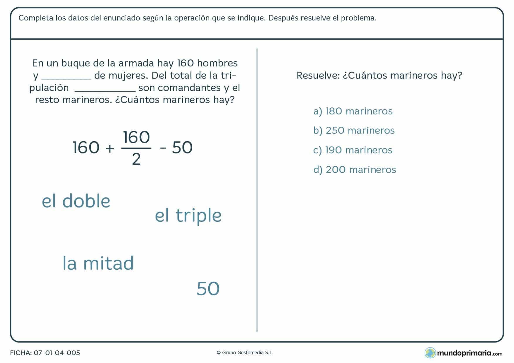 Resolución problemas ejercicios quinto primaria